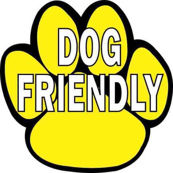 Dog Friendly Sticker
