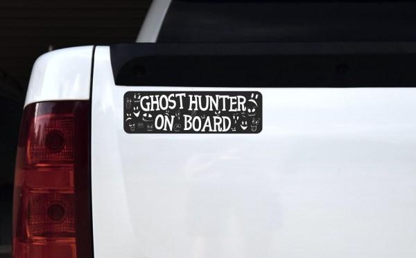 Ghost Hunter on Board Bumper Sticker