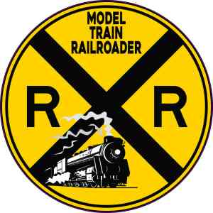 Model Train Railroader Sticker
