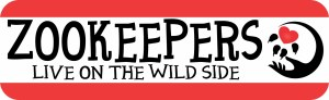 Zookeepers Live on the Wild Side Bumper Sticker