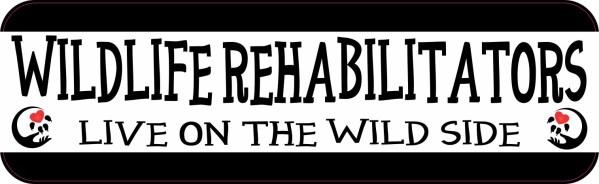 Wildlife Rehabilitators Bumper Sticker