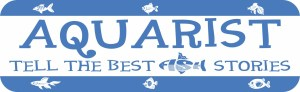 Aquarist Tell the Best Fish Stories Bumper Sticker