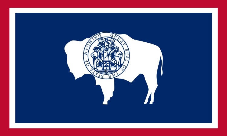 Wyoming State Flag Magnet