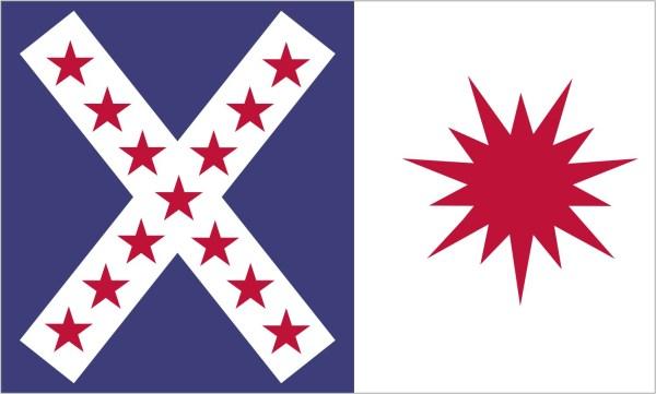 Rappahannock Cavalry Flag Sticker