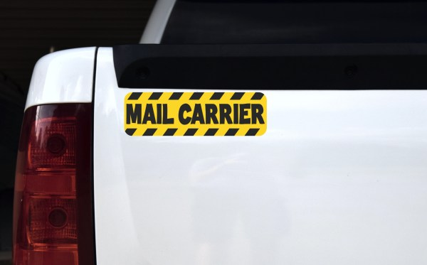 Mail Carrier Magnet