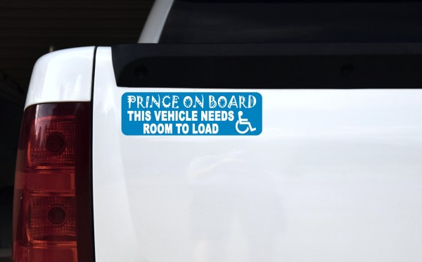 Prince Vehicle Needs Room to Load Magnet