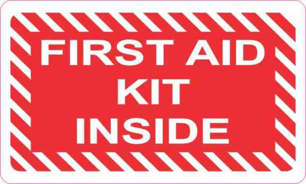 First Aid Kit Inside Magnet