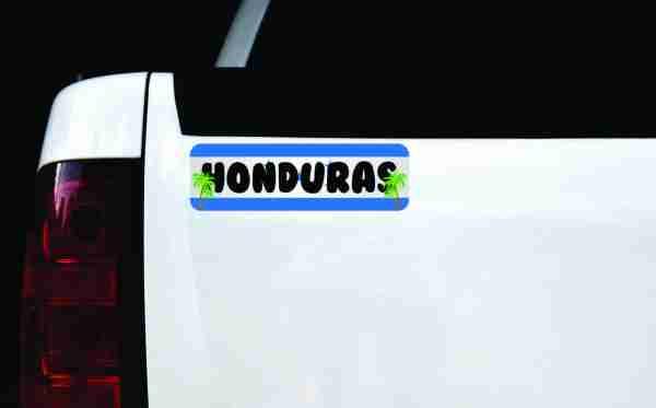 Honduras Vinyl Sticker