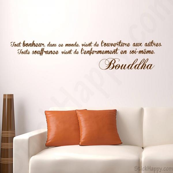 Dcoration Bouddha Bouddhisme Sur Mur Peint