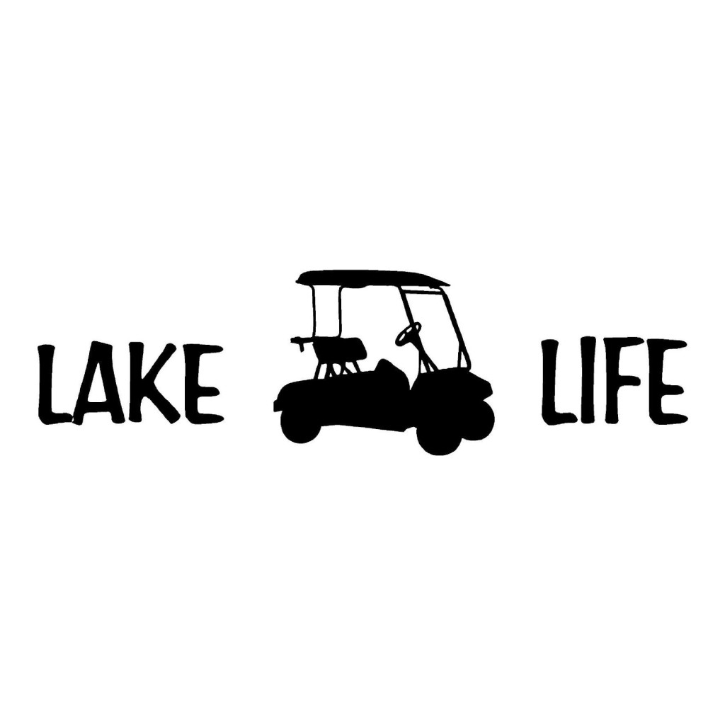 Lakelife With A Golf Cart