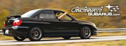 Cincinnati Subarus Message board Decal