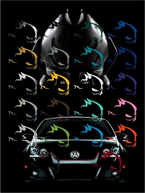 VW My Fast Decal Sticker