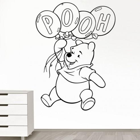 stickers decoration enfant winnie l ourson stickers muraux