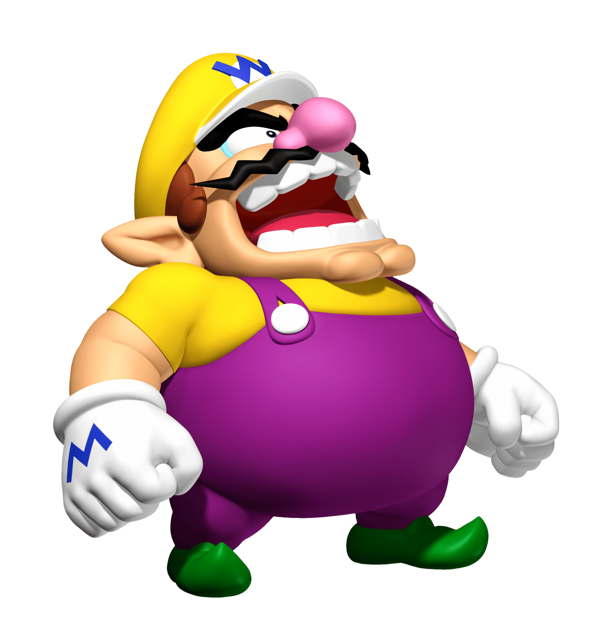 Angry Wario Transparent PNG StickPNG