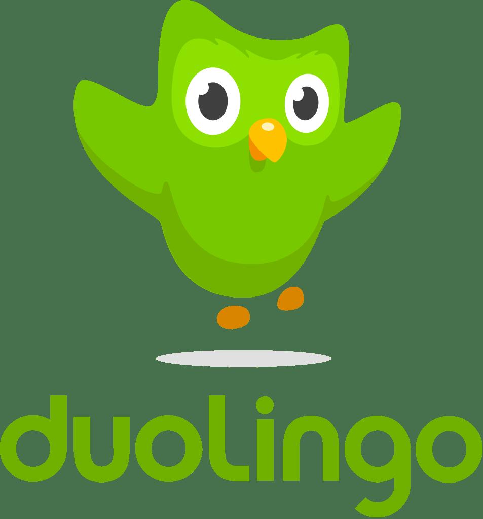Resultado de imagen de duolingo logo png