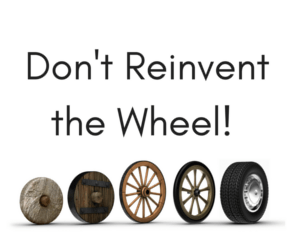Sticks reinvents the wheel again!