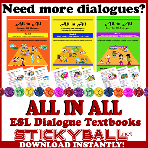 ESL Dialogues and Conversation Activities -