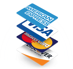 Shop with credit cards