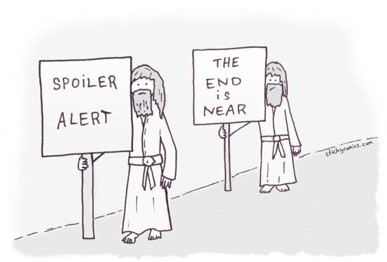 Spoiler Alert Comical Image
