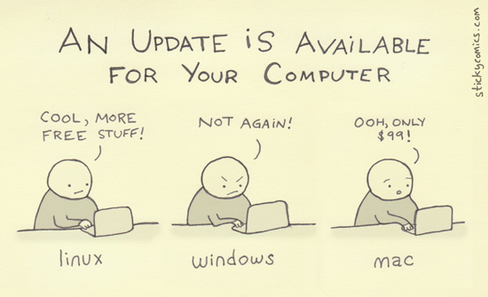stickycomics cartoon on updates