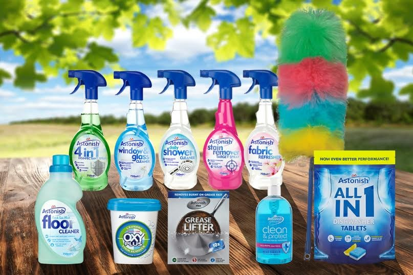 Astonish Cleaning Range & Giveaway
