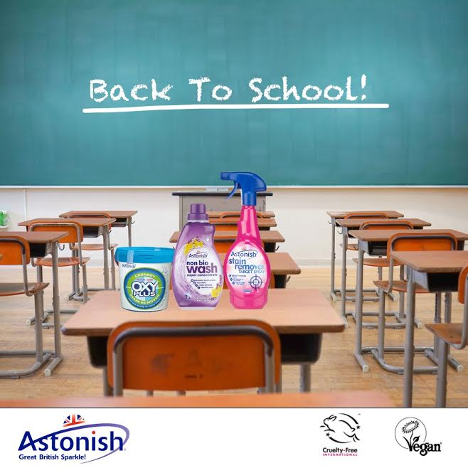 Win A Back To School Pack From Astonish