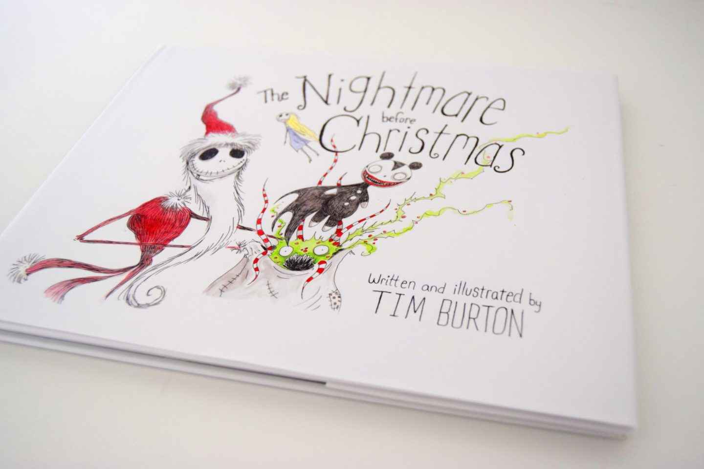 The Nightmare Before Christmas By Tim Burton - Sticky Mud and Belly ...