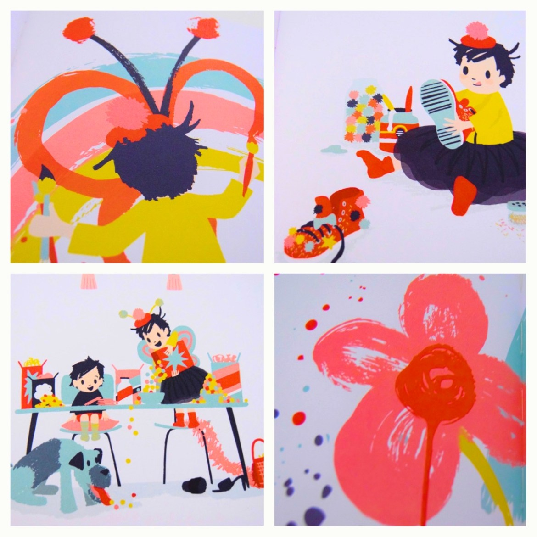 Children's picture book - Edie by Sophy Henn