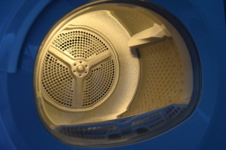Beko DTGC8011W Tumble Dryer interior drum light