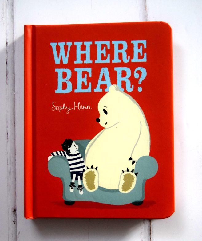 Where Bear? By Sophy Henn. Christmas Eve box fillers