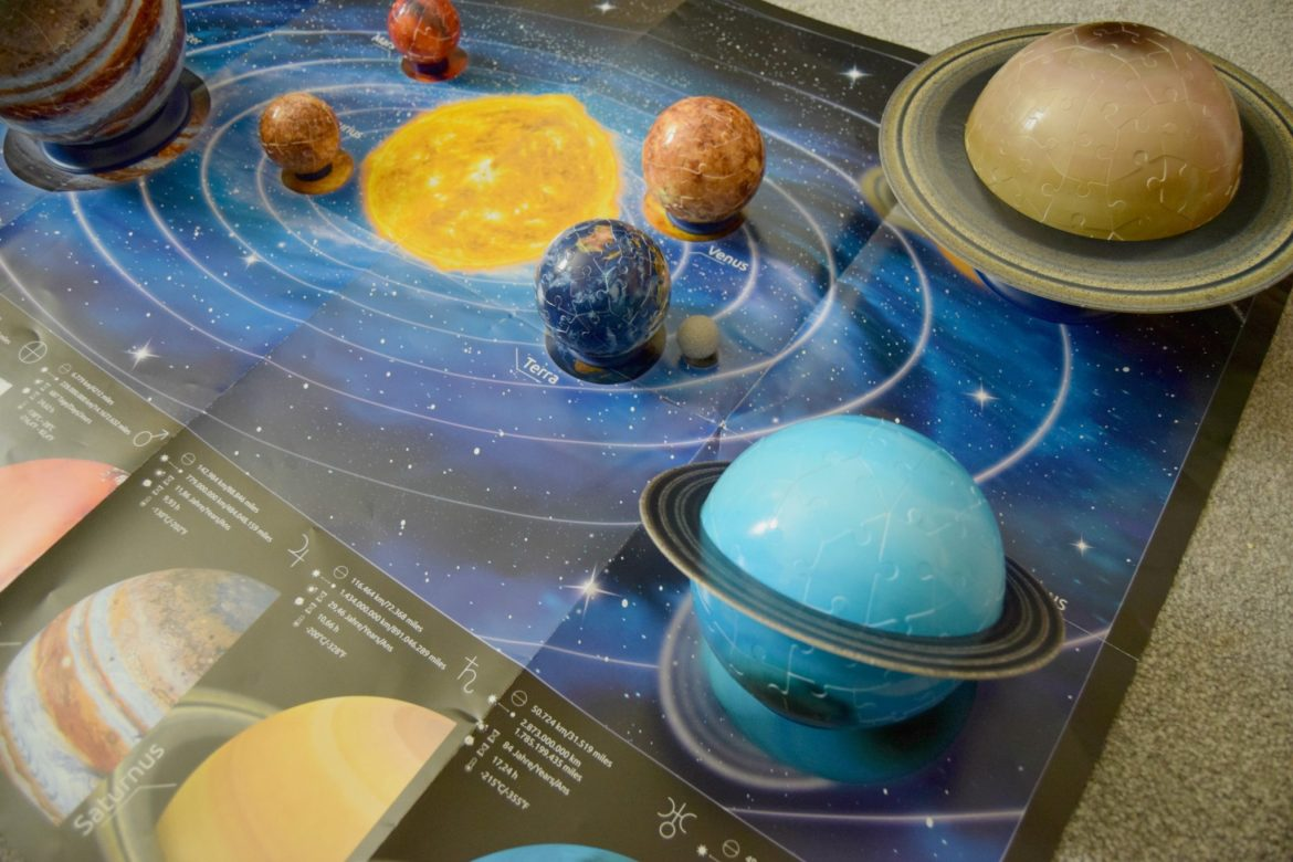 Ravensburger Planetary Solar System 3D Puzzle. Jigsaw puzzles for the whole family.