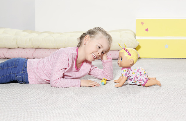 BABY born® Funny Faces Crawling Baby