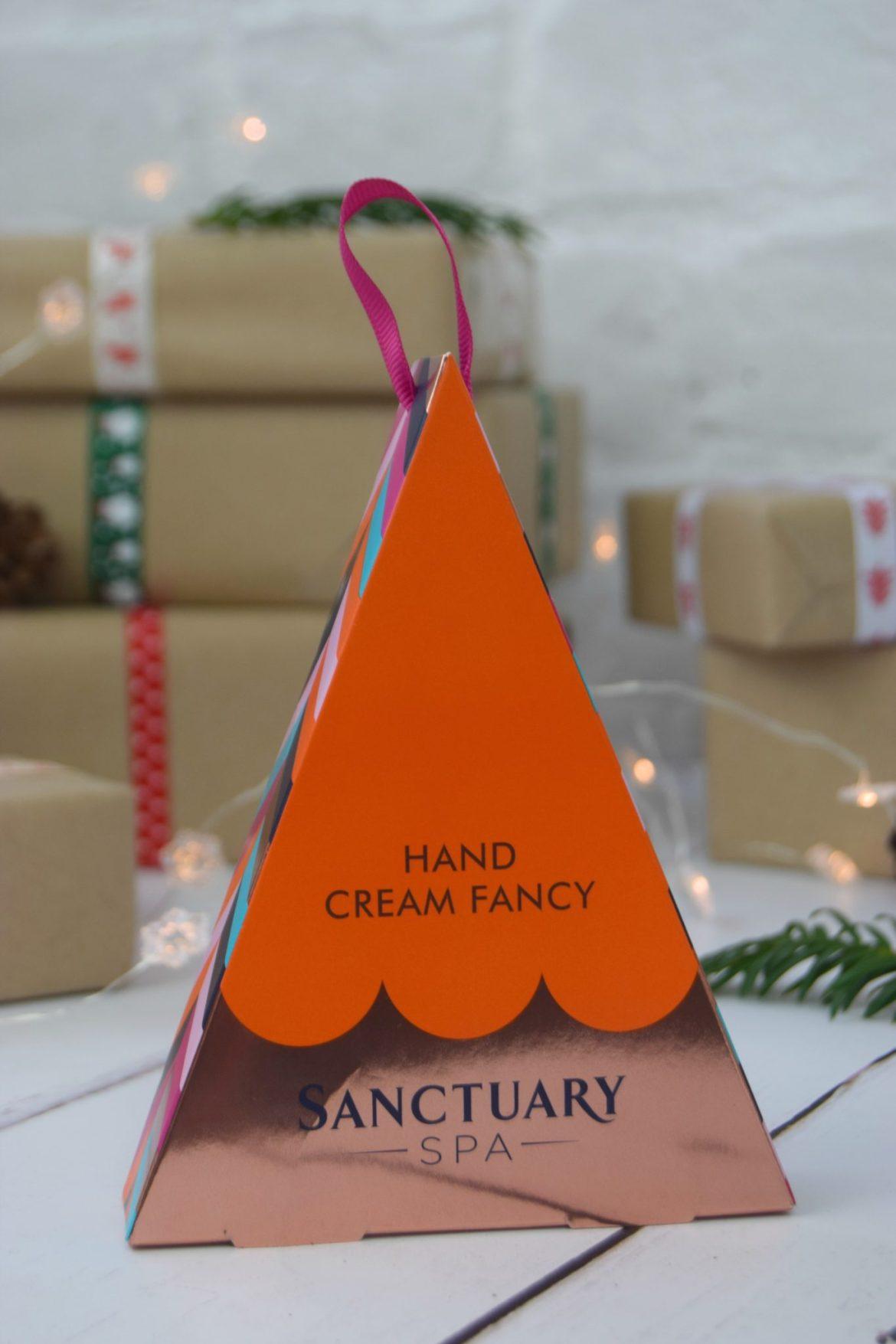 Sanctuary Spa hand cream