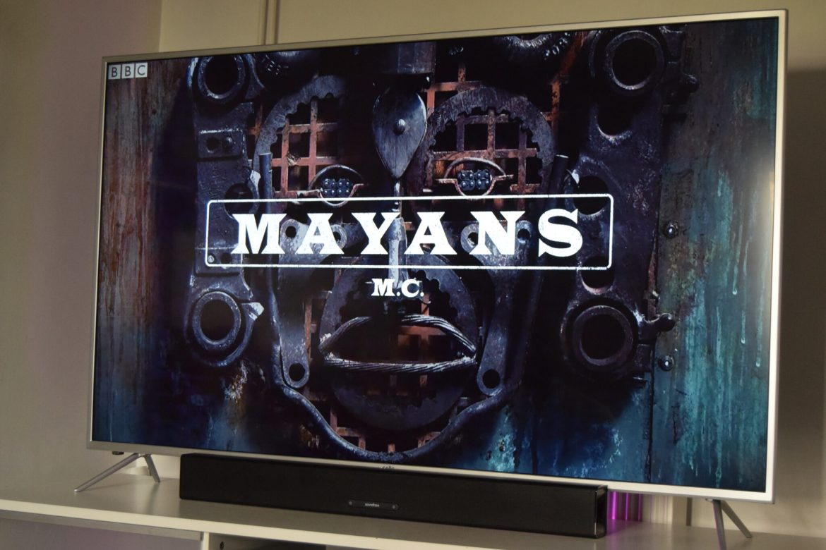 something good to watch on TV. The Mayans TV series.