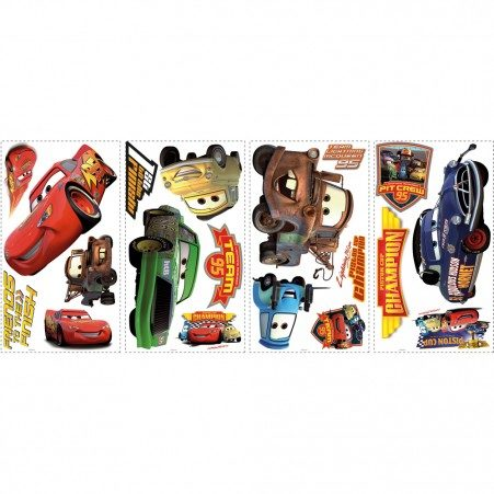 disney cars wall decals cars piston cup champions wall stickers