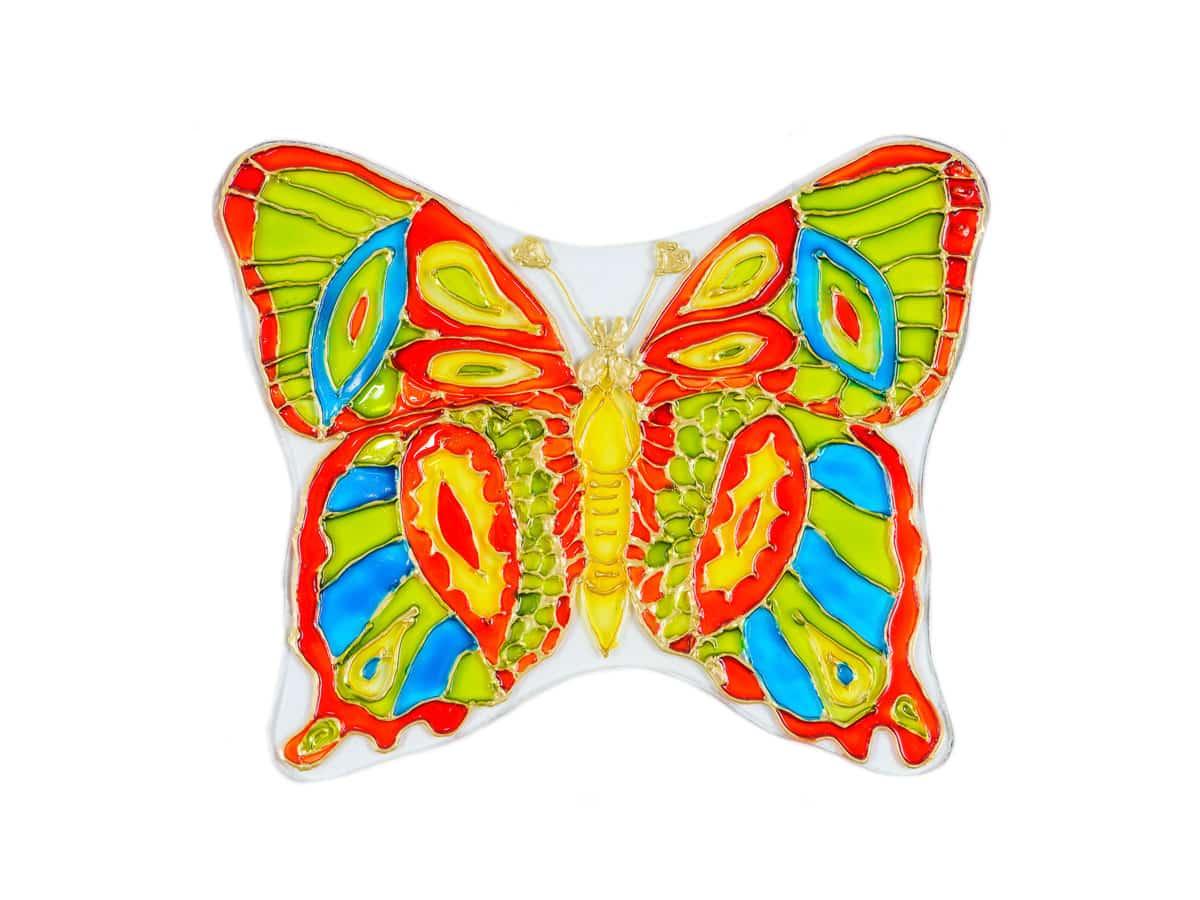 Ornament cu fluturas norocos – multicolor