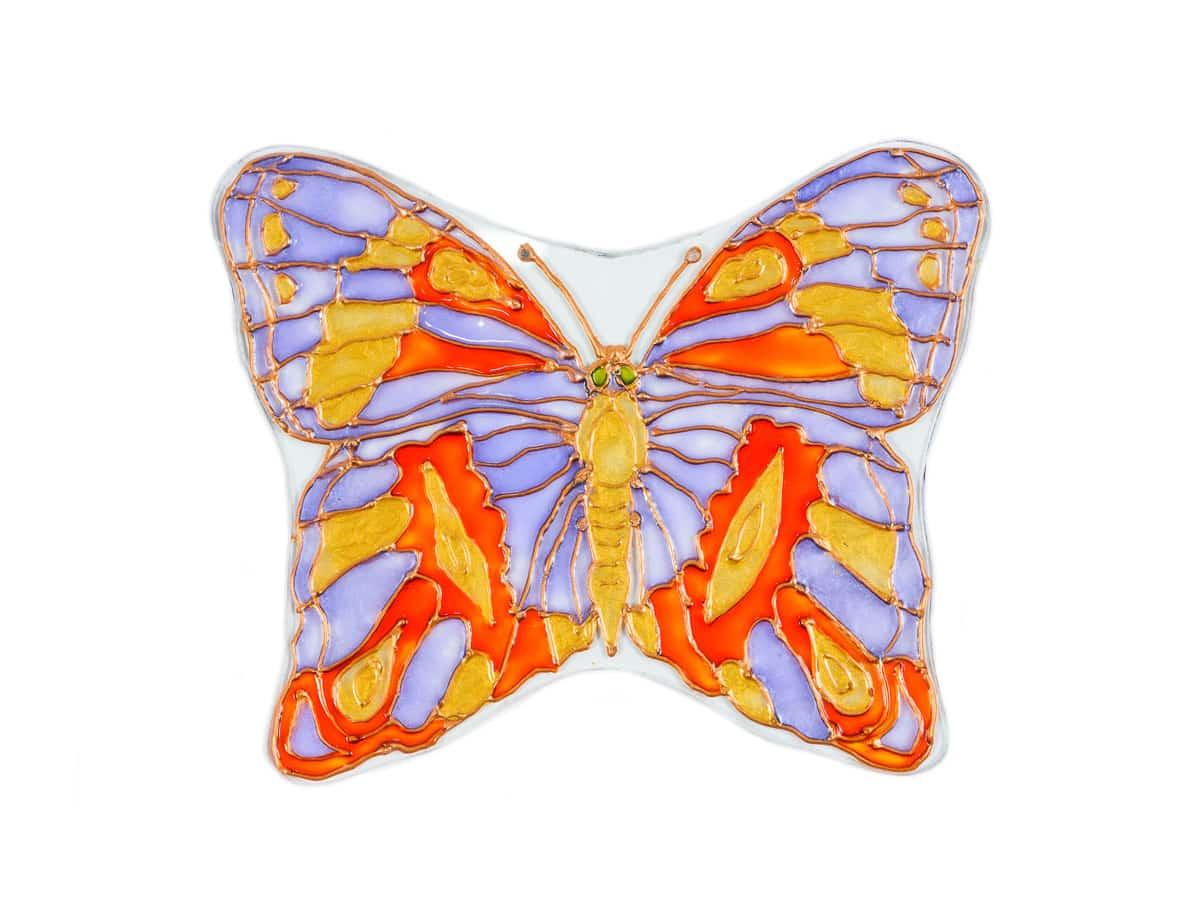Ornament cu fluturas norocos – lila