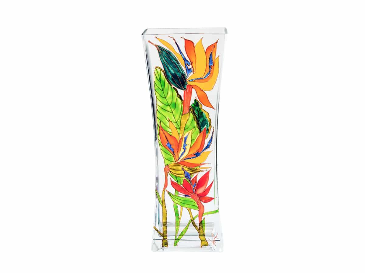 Vaza cu floarea paradisului