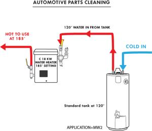 Water Heaters In Series Diagram  Wiring Diagram
