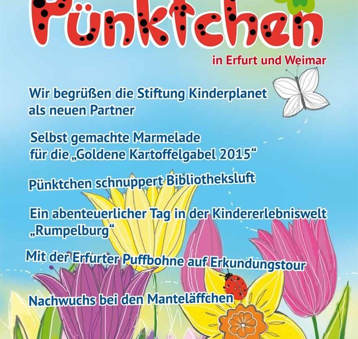 """Die neue Ausgabe des Stadt- und Mitmachmagazins """"Pünktchen"""" ist da"""