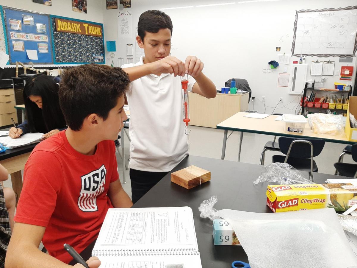 8th Grade Density And Buoyancy
