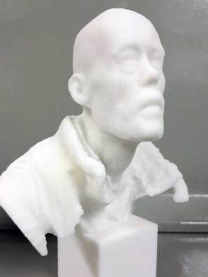 Wilfred Stijger sculpture 3D printing