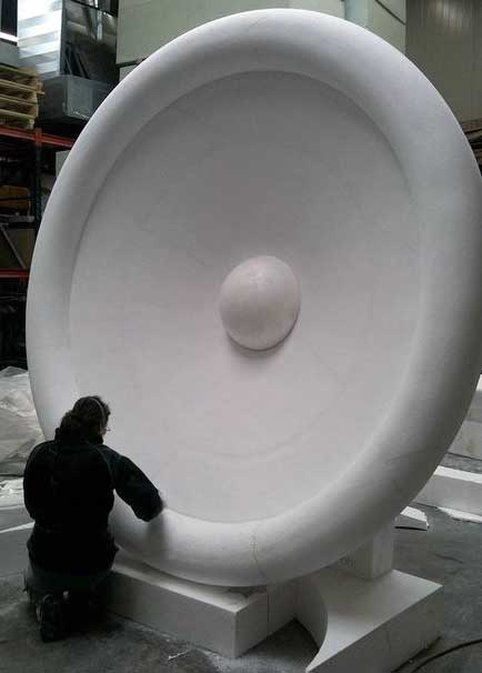 Wilfred Stijger Edith Van de Wetering foam sculpture