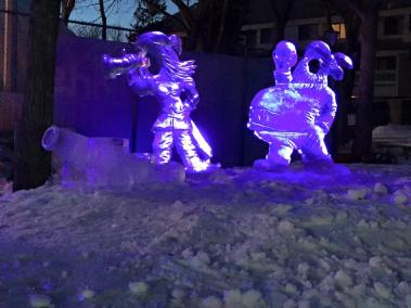 Wilfred Stijger ice snow sculpture