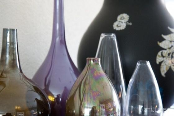 styling glazen vazen en ikea vaas hella jongerius na STIJLIDEE Interieuradvies en Styling