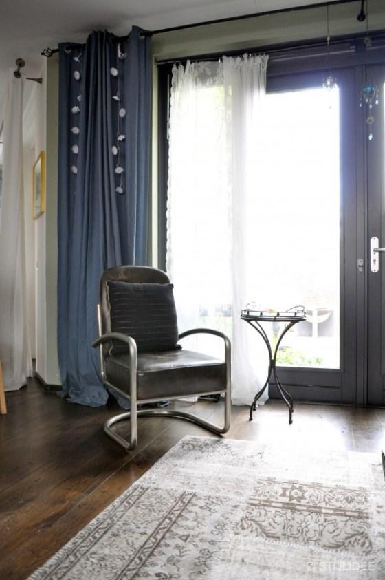 buisframe design stoel woonkamer Vleuten na STIJLIDEE interieuradvies