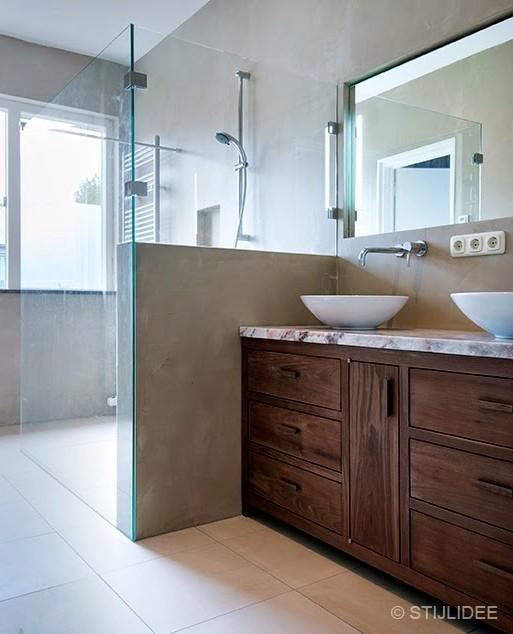 Badkamer na het interieuradvies van STIJLIDEE Interieuradvies en Styling