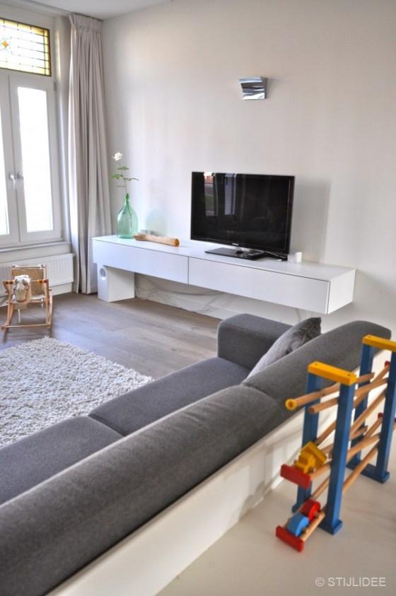 woonkamer na STIJLIDEE's interieuradvies, kleuradvies en styling