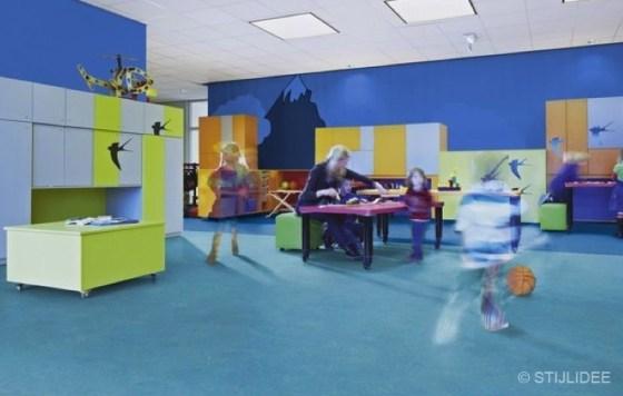 STIJLIDEE Kleuradvies voor Basisschool Het Kompas en IKC Royal Kids Home | Blue Water School