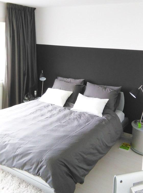 Moderne Slaapkamer Wit.Binnenkijken In Een Moderne Design Slaapkamer Met Zwart